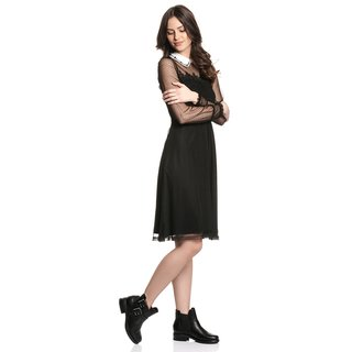 VIVE MARIA Colette Swing Women Flounce Dress black