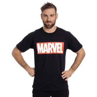 Marvel Logo T- Shirt black