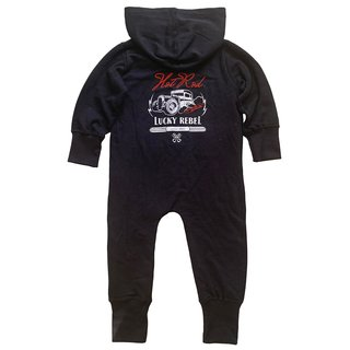 Lucky Rebel Baby All-in-One Strampler black