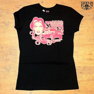 Lucky 13 Girl T-Shirt High Boys