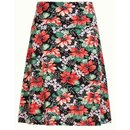 KING LOUIE Border Skirt Pacifica black