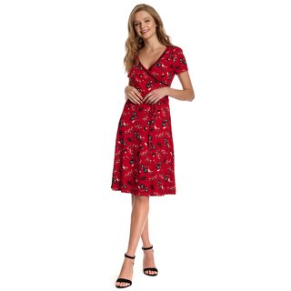 VIVE MARIA Red Paradise Women Wrap Dress red