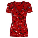 VIVE MARIA Red Summer Women T-Shirt
