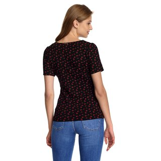 VIVE MARIA Lovely Cherry Women T-Shirt black