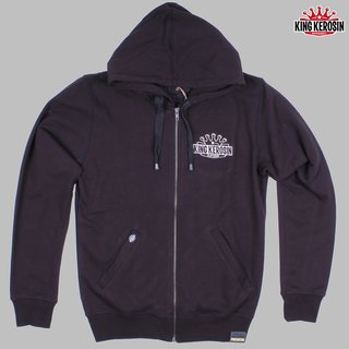 King Kerosin Zip Hoodie Booze and Tattoo
