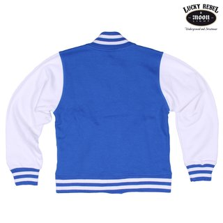 LUCKY REBEL Kids College Jacke blue