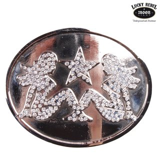 SILVER STAR Buckle Pin Up Girls