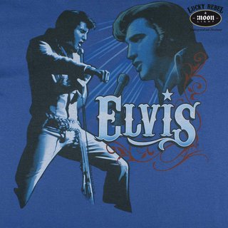 ELVIS PRESLEY T-Shirt blue