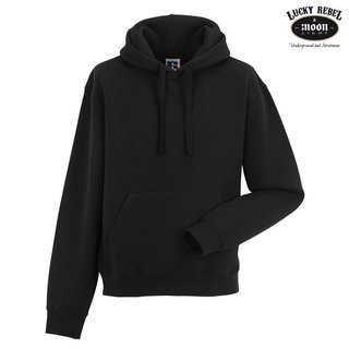 RUSSELL Authentic Hooded Sweat Hoodie black