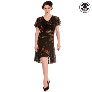 HELL BUNNY Lily Dress black